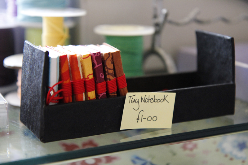 41 tiny notebooks